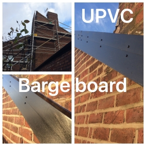 Upvc barge boards